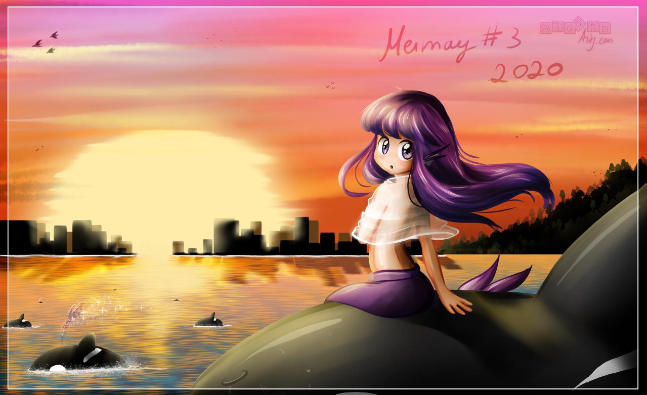 Mermay 2020 #3 - Sunset