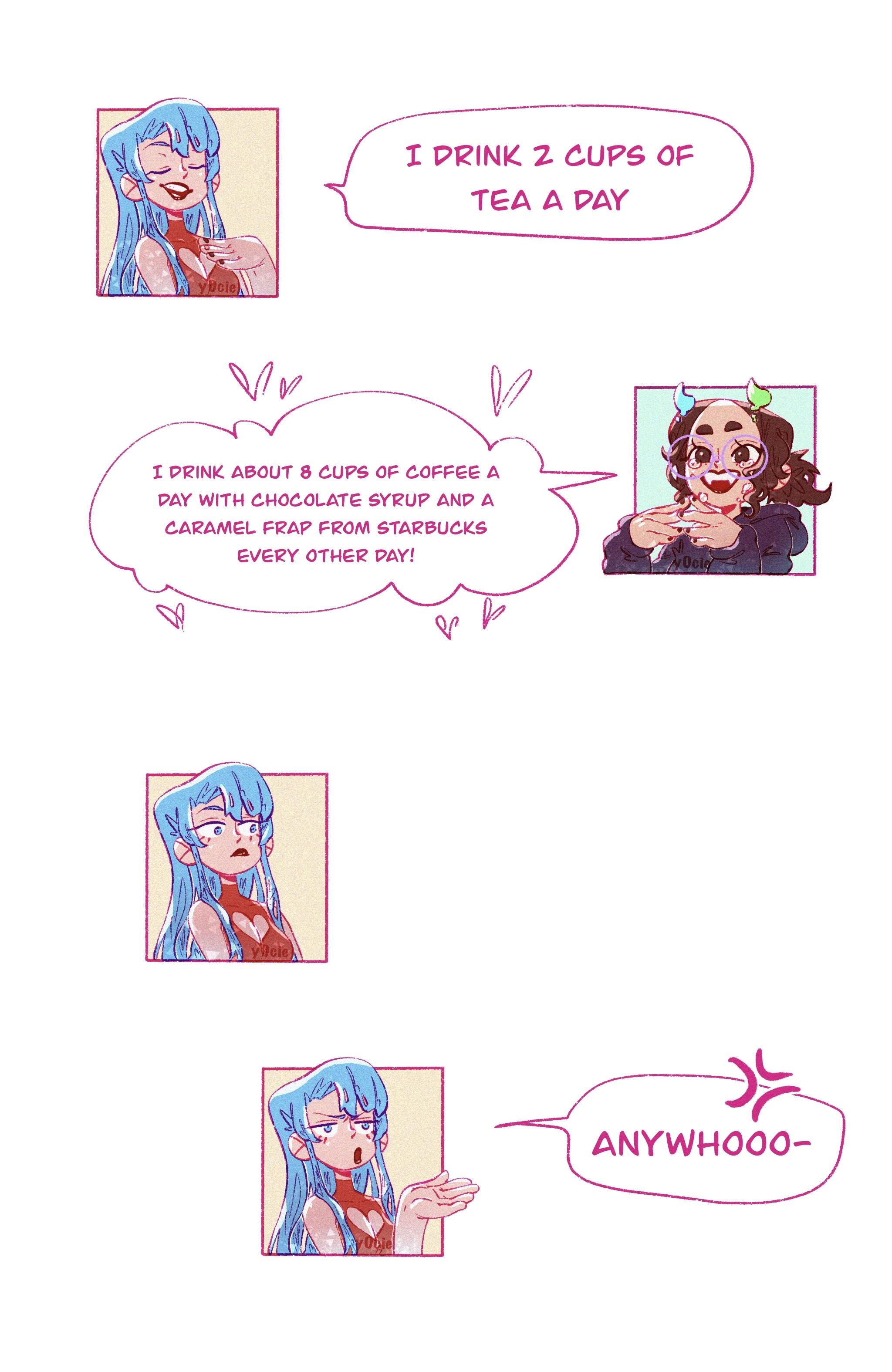 Experimental comic