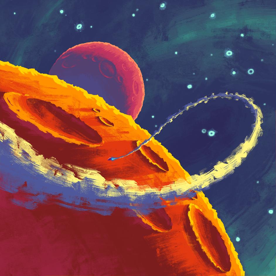 Guy Galaxy Concept Art