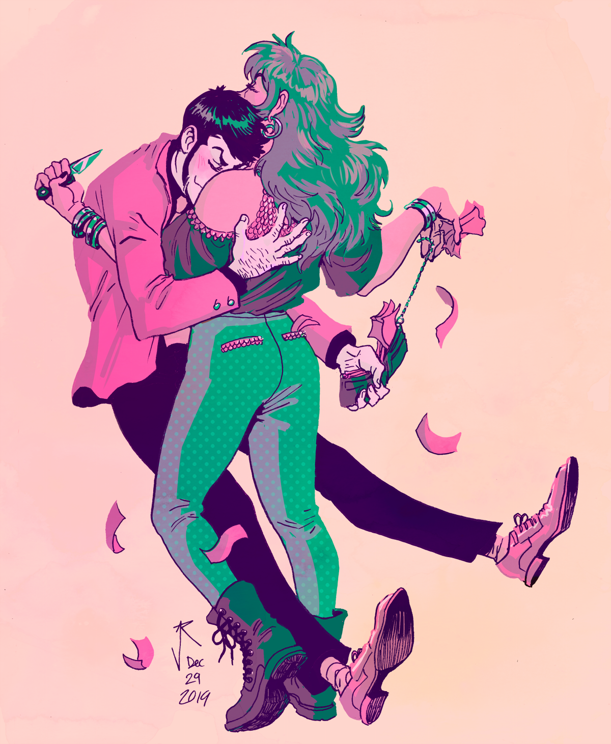 💜stealing your love💚