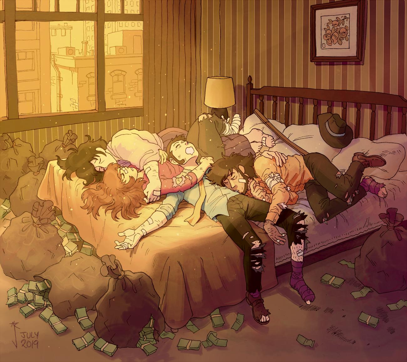 lupin & his sleepy rogues