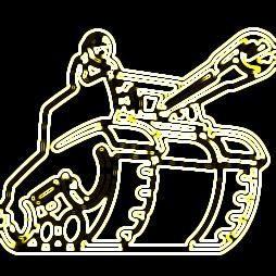 Newgrounds Logo Neon