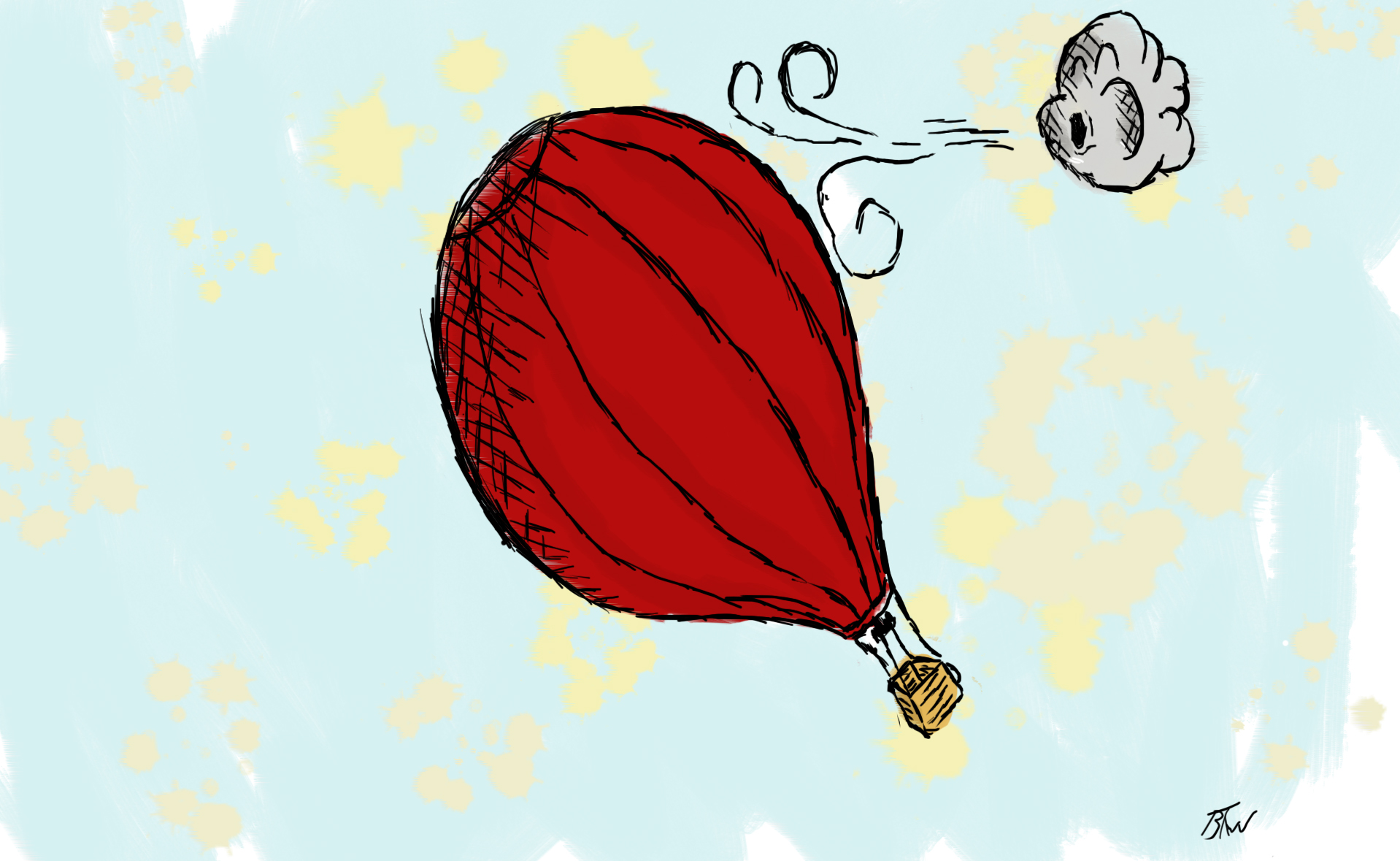 hot airbaloon