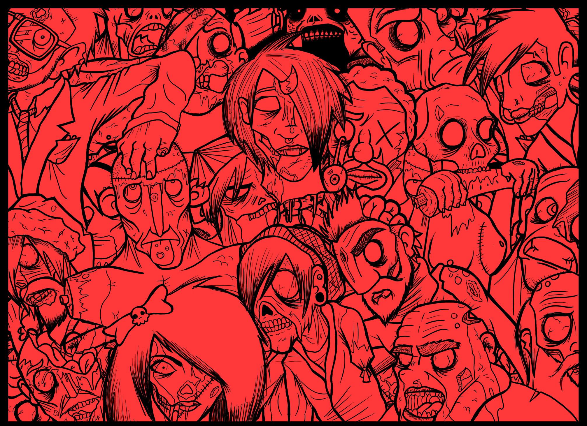 ZOMBIES! - wallpaper