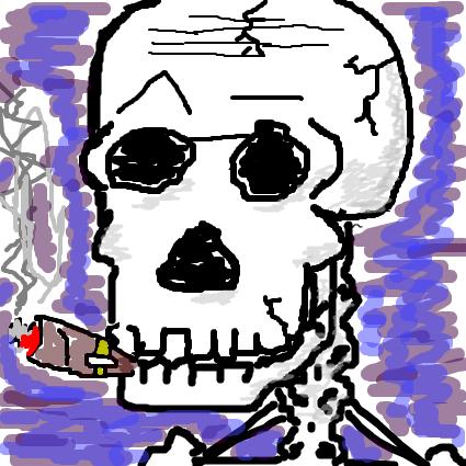 The skullzor!