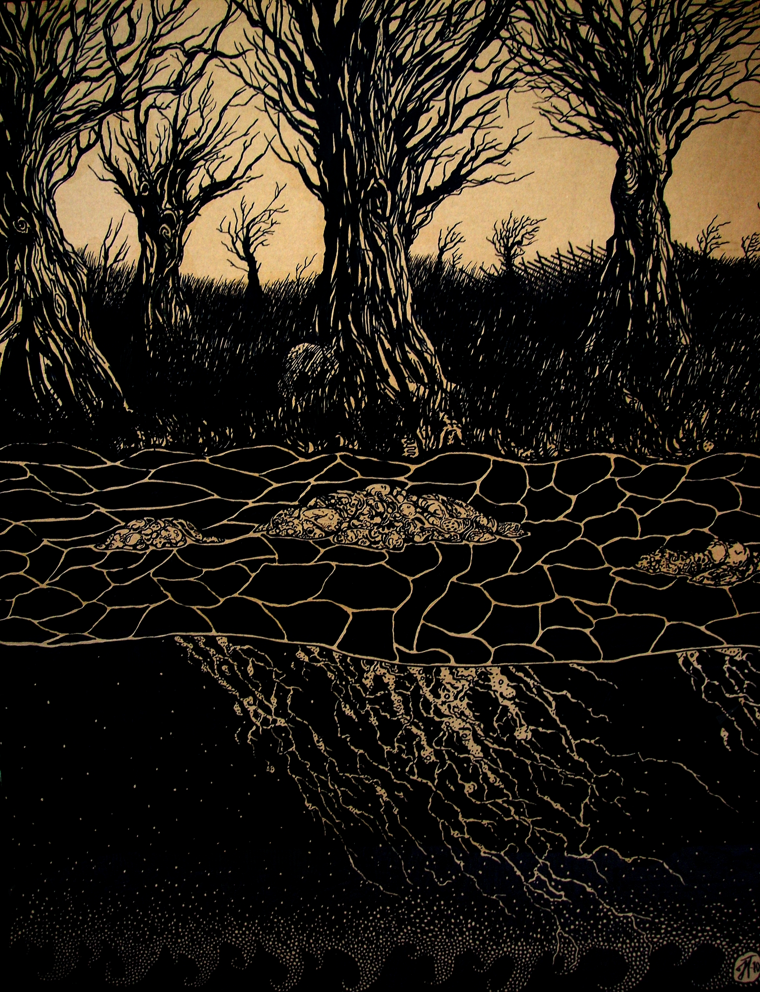 River of The Floating Dead...