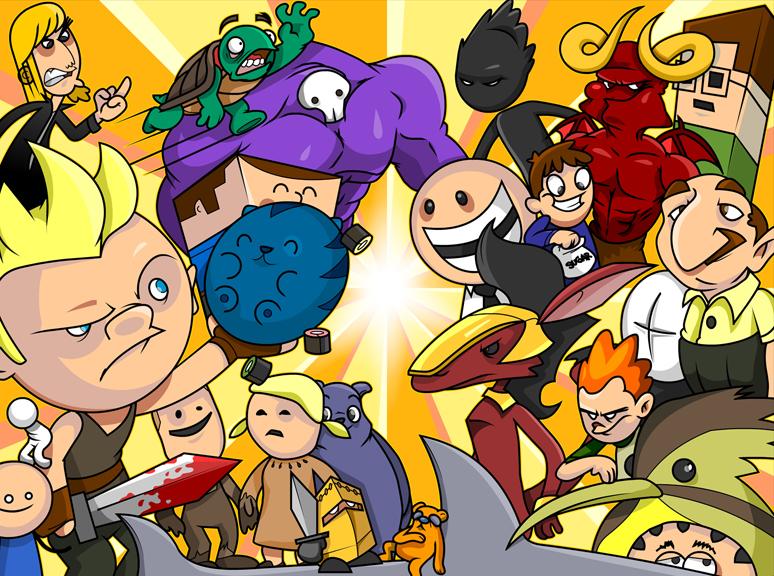 Orginail Characters on NG