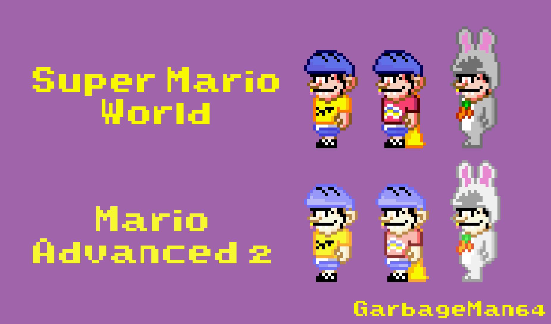 [Shitpost] - Jeffy in Super Mario World Style