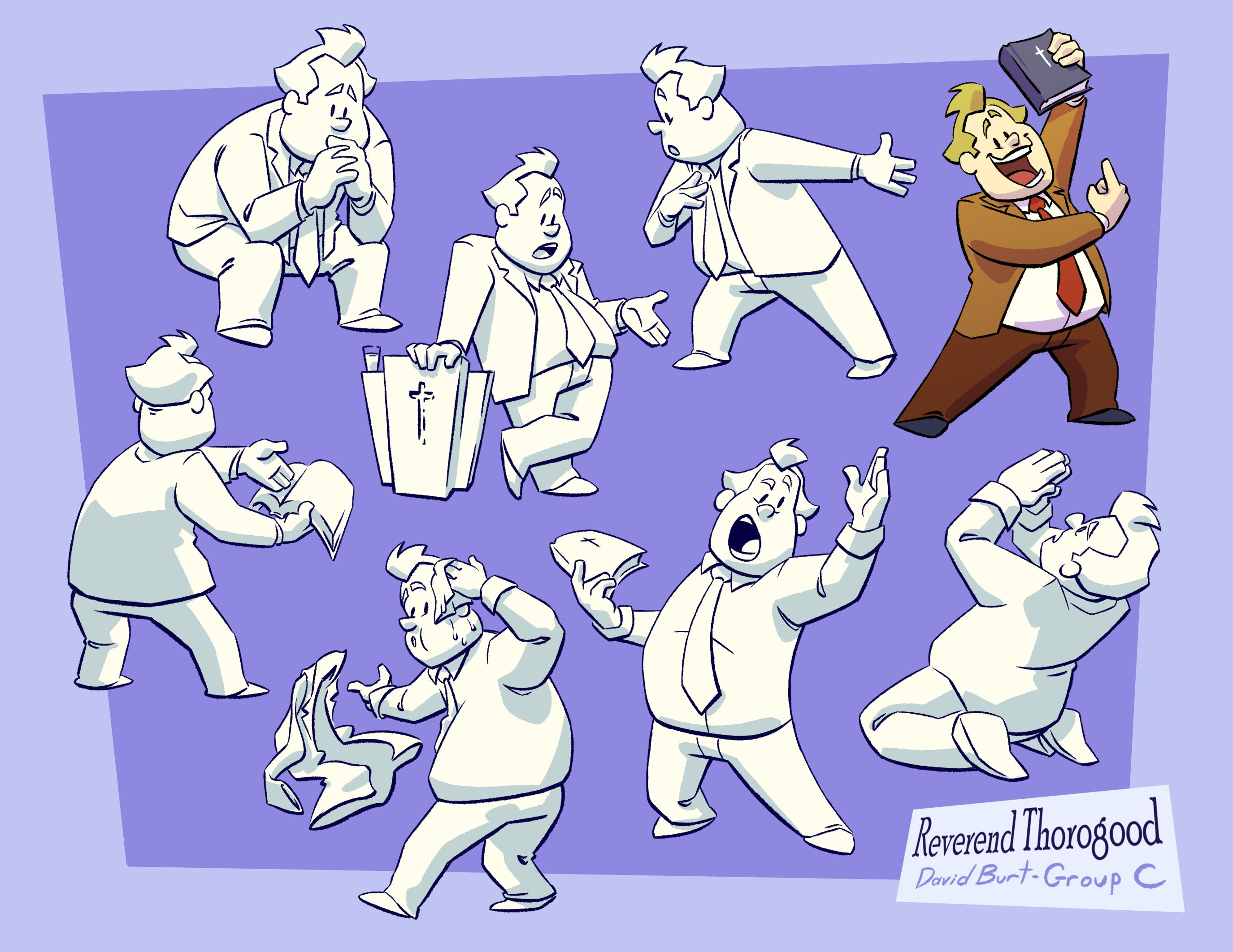 Character Design Sheets