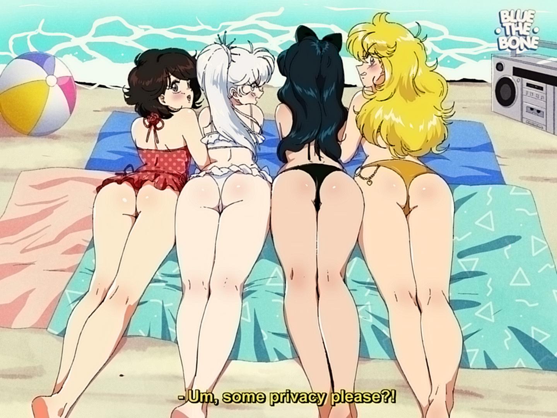 [RETRO] RWBY Peaches on the Beach