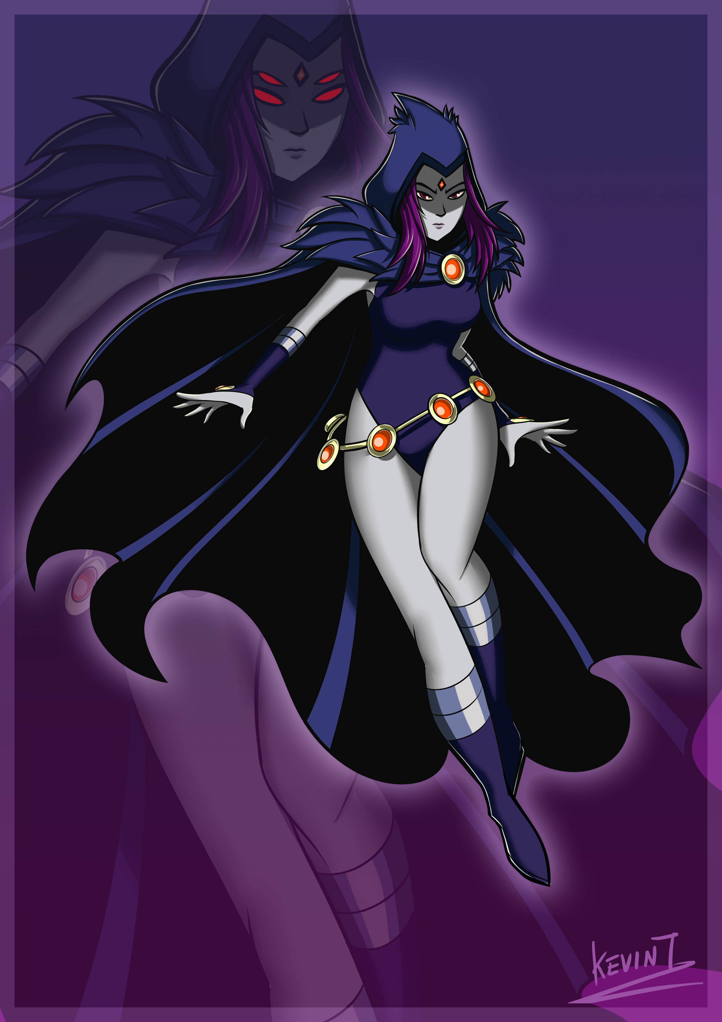 Raven Teen Titans! by ClaireCHammy on Newgrounds