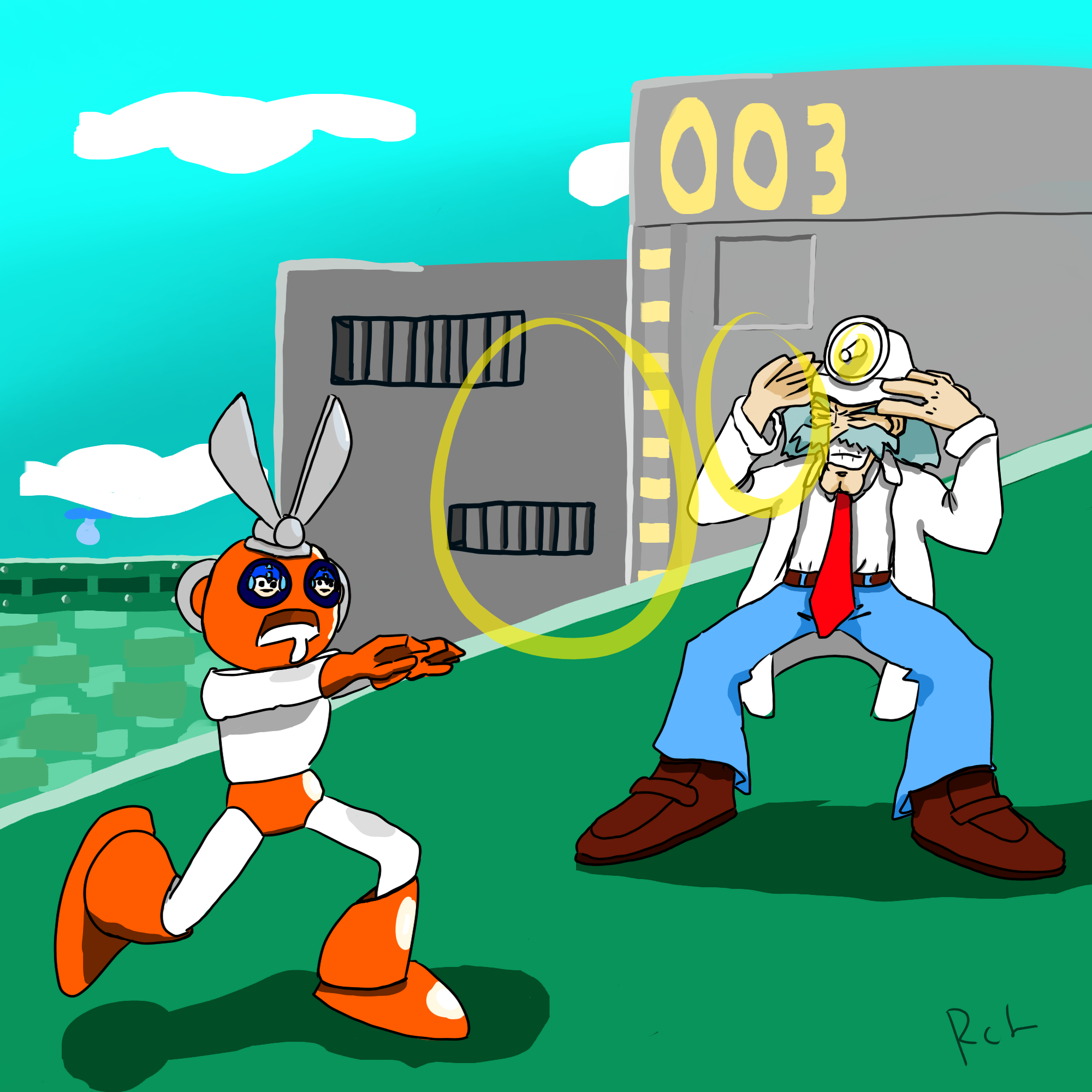 (Art Request) Dr. wily and cut man
