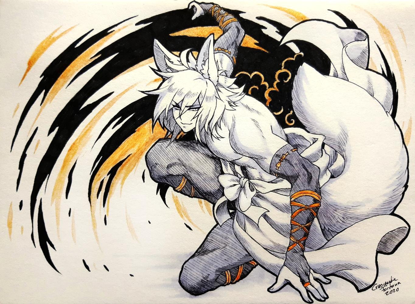 Swoosh fox