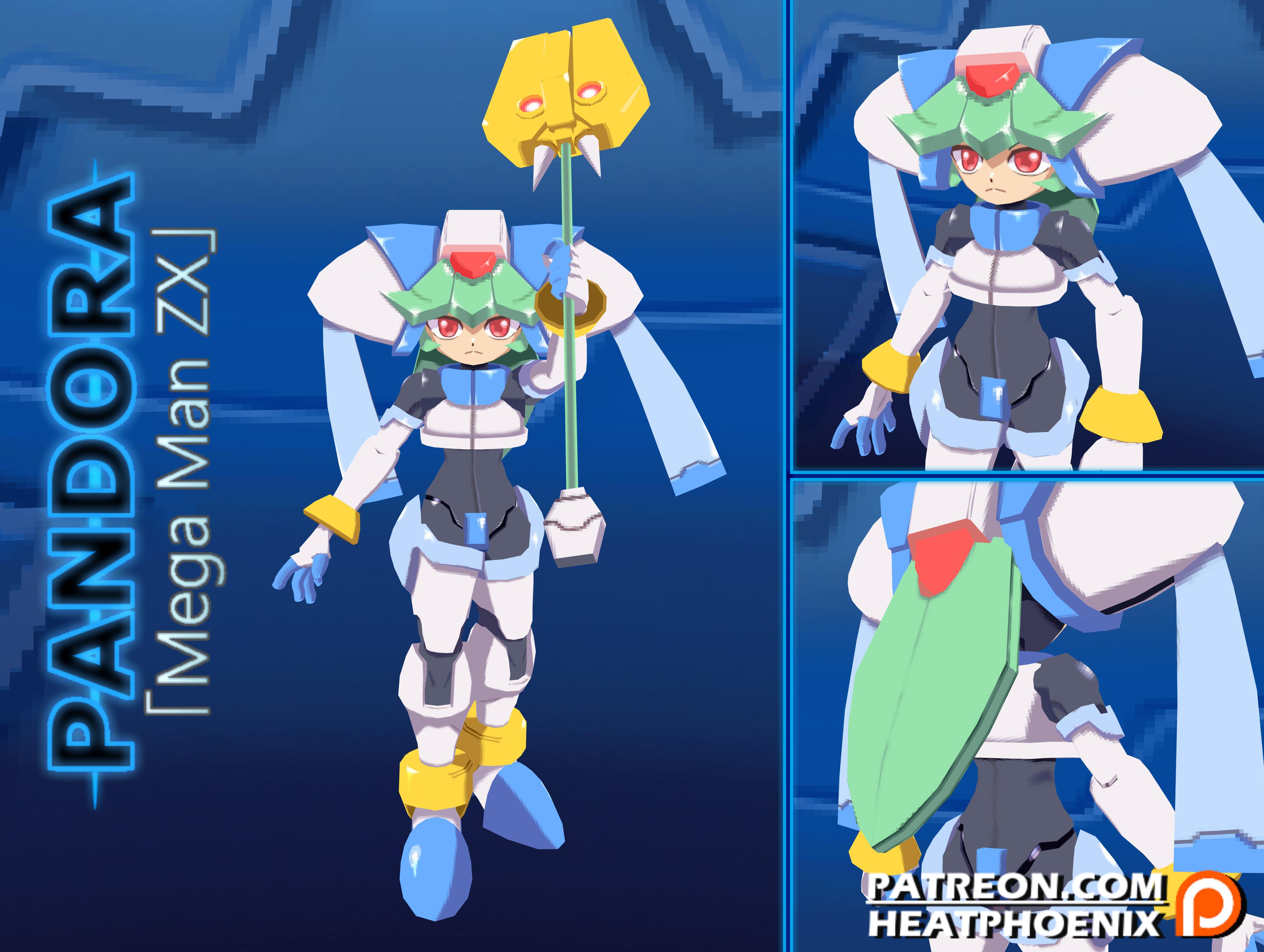 Pandora (Rockman ZX) Image #2468780 - Zerochan Anime Image