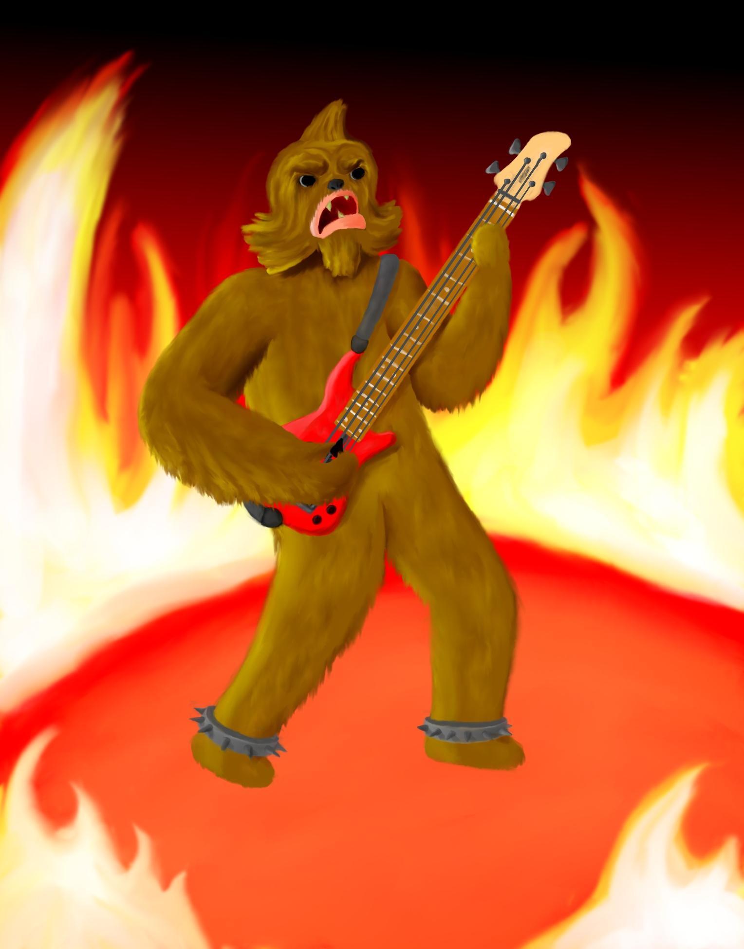 Wookiee Guitar