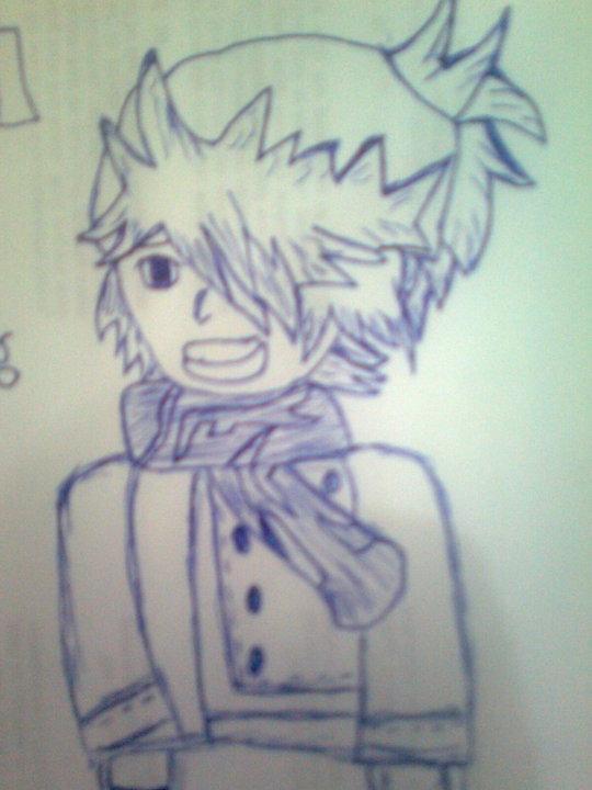 Tegami Bachi pencil drawing