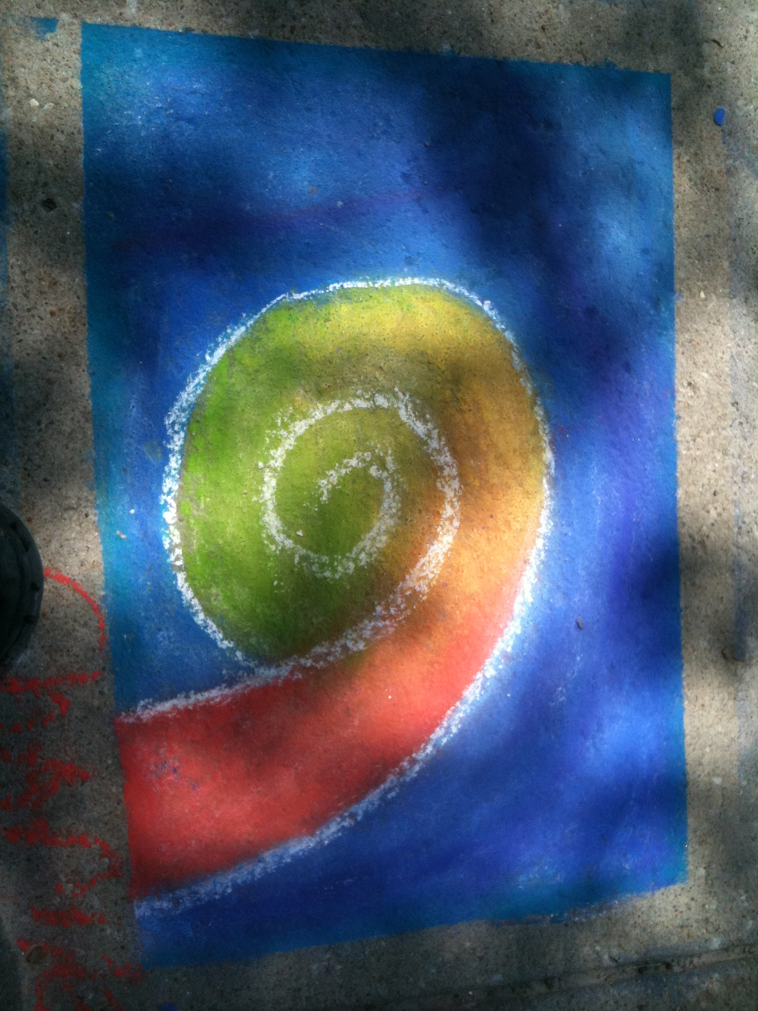 swirlz of chalk