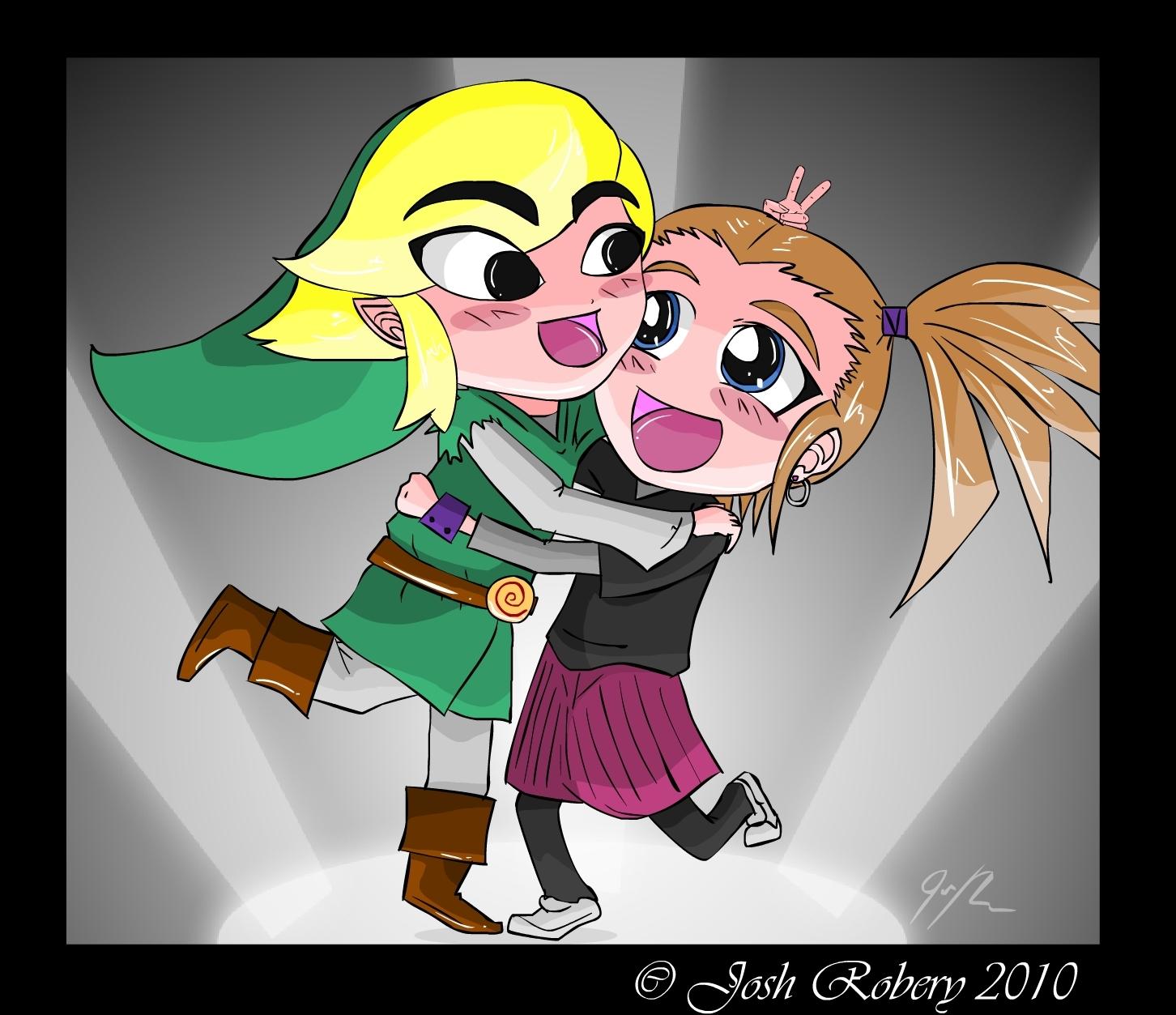 Toon link HUG