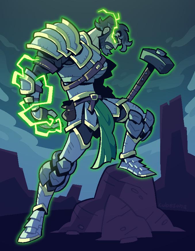 COMMISSION: Weapon Man