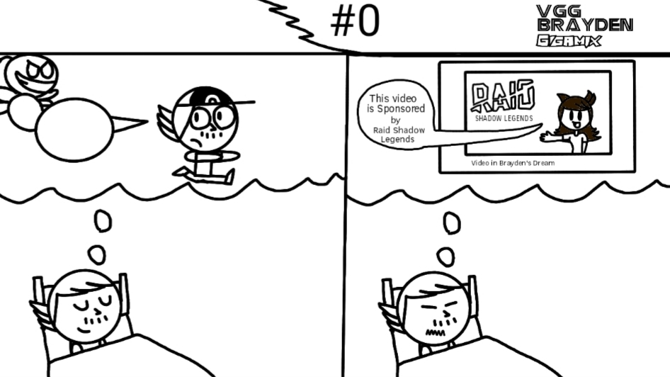 [POTENTIAL COMIC SERIES] VGG Brayden Gigamix #0: Nightmares