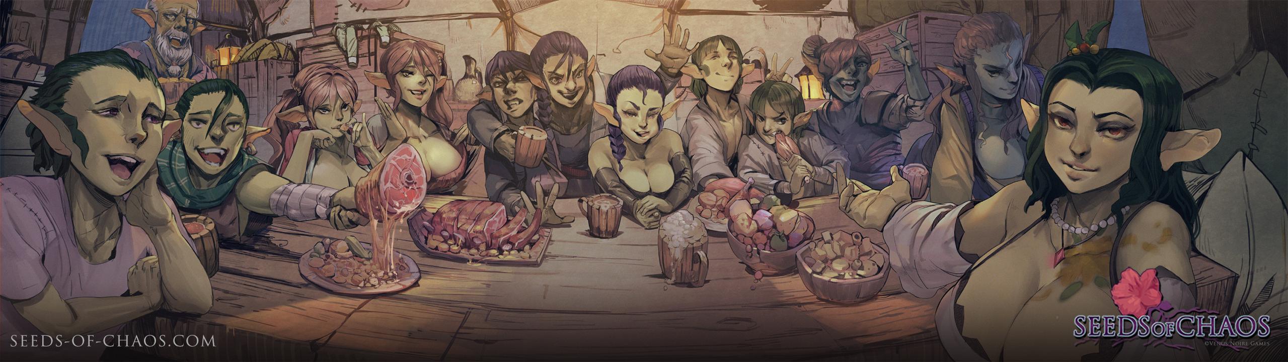 Goblin Family Dinner