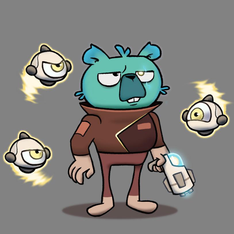 Gorp the alien bounty hunter