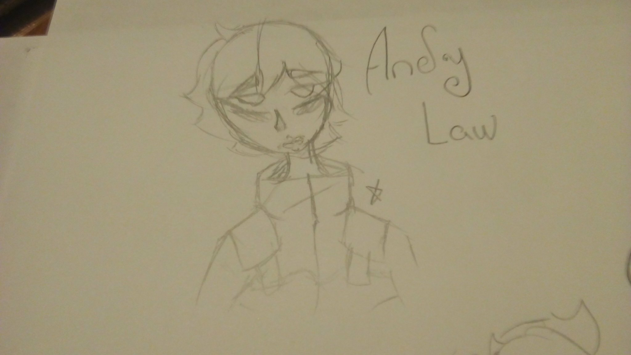 Andy Law ilustration by: @Lisaneki