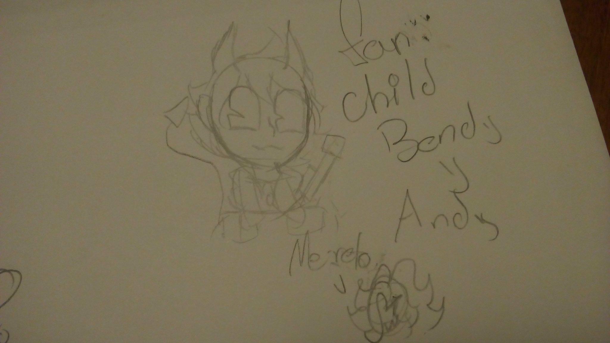 andy + bendy = fusion by:@Lisaneki