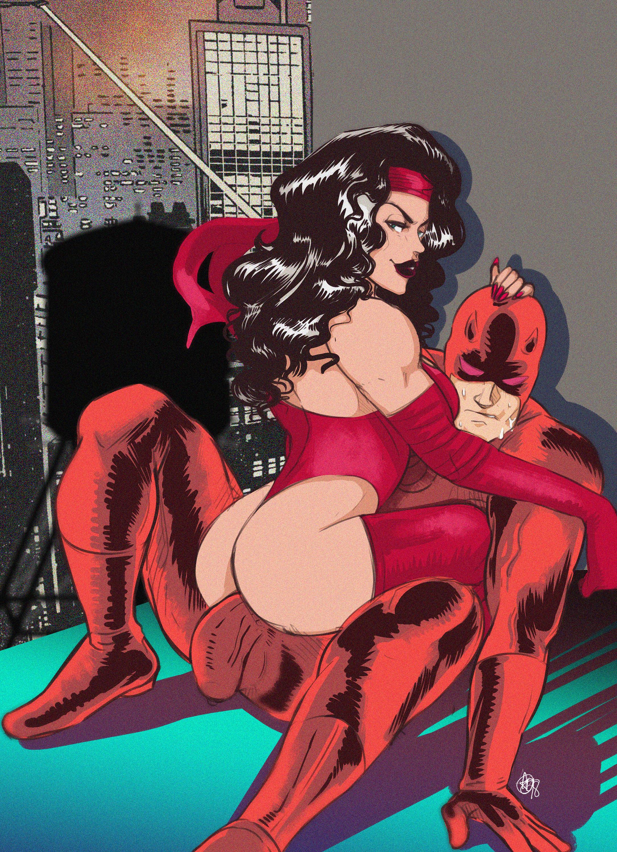 Elektra x Daredevil