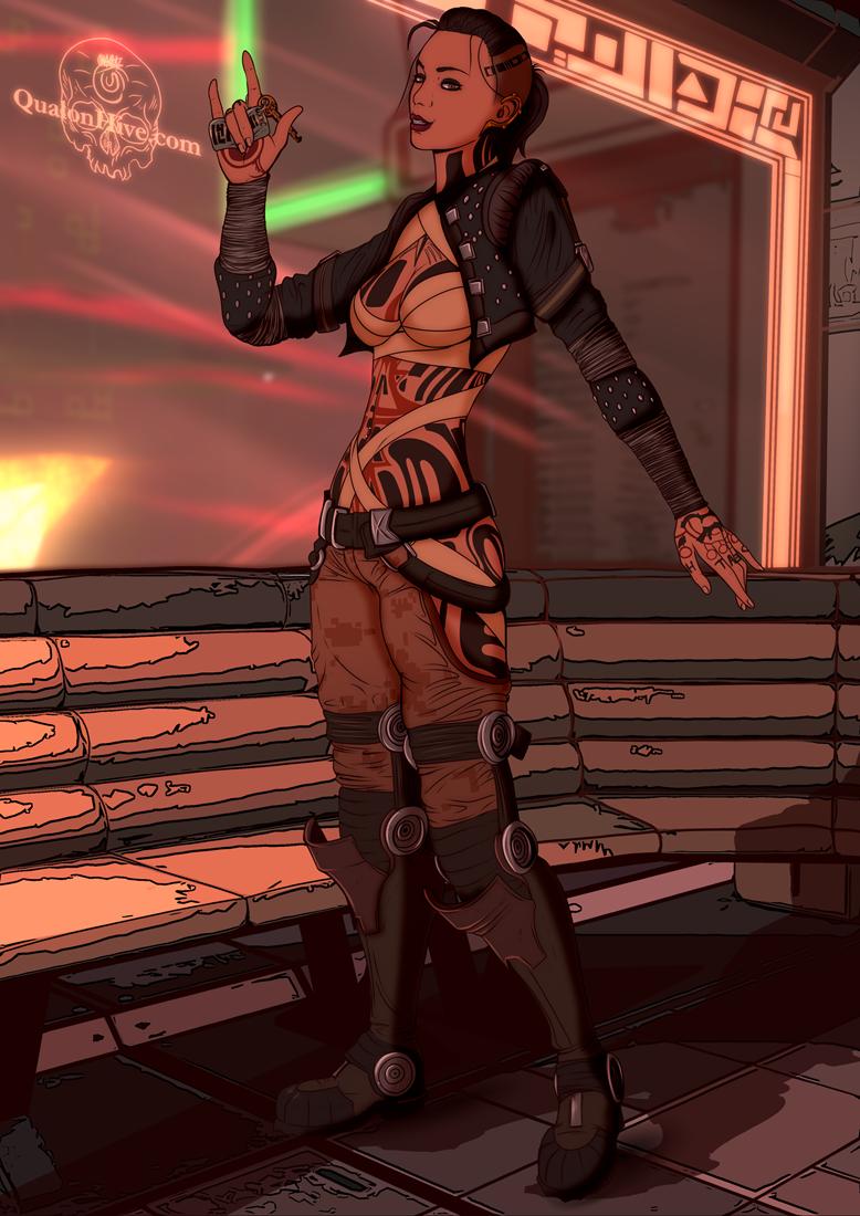 Mass Effect : Jack *SFW*