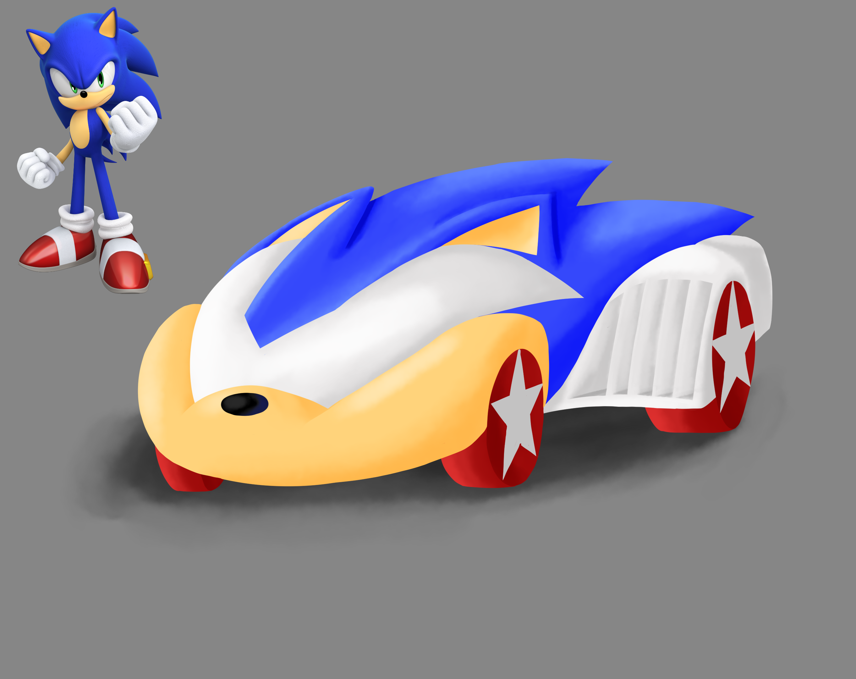 Character Car Concept Sonic The Hedgehog By Sonicbot On Newgrounds