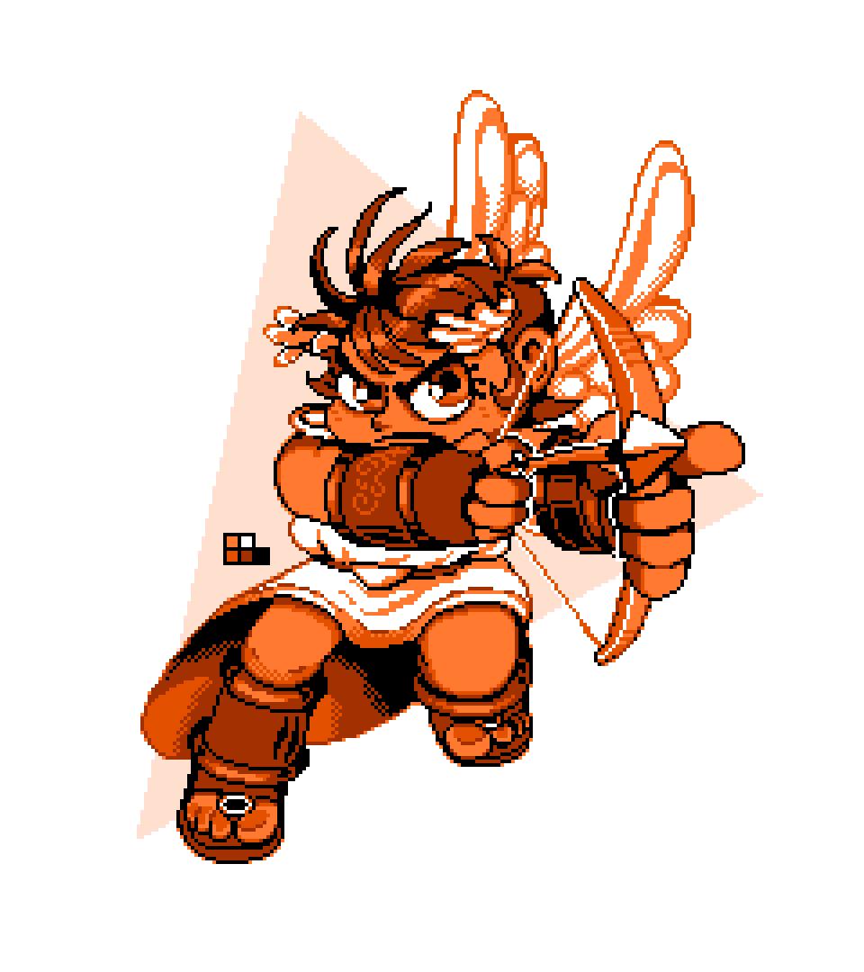 Pixel Art-icus Kid Icarus
