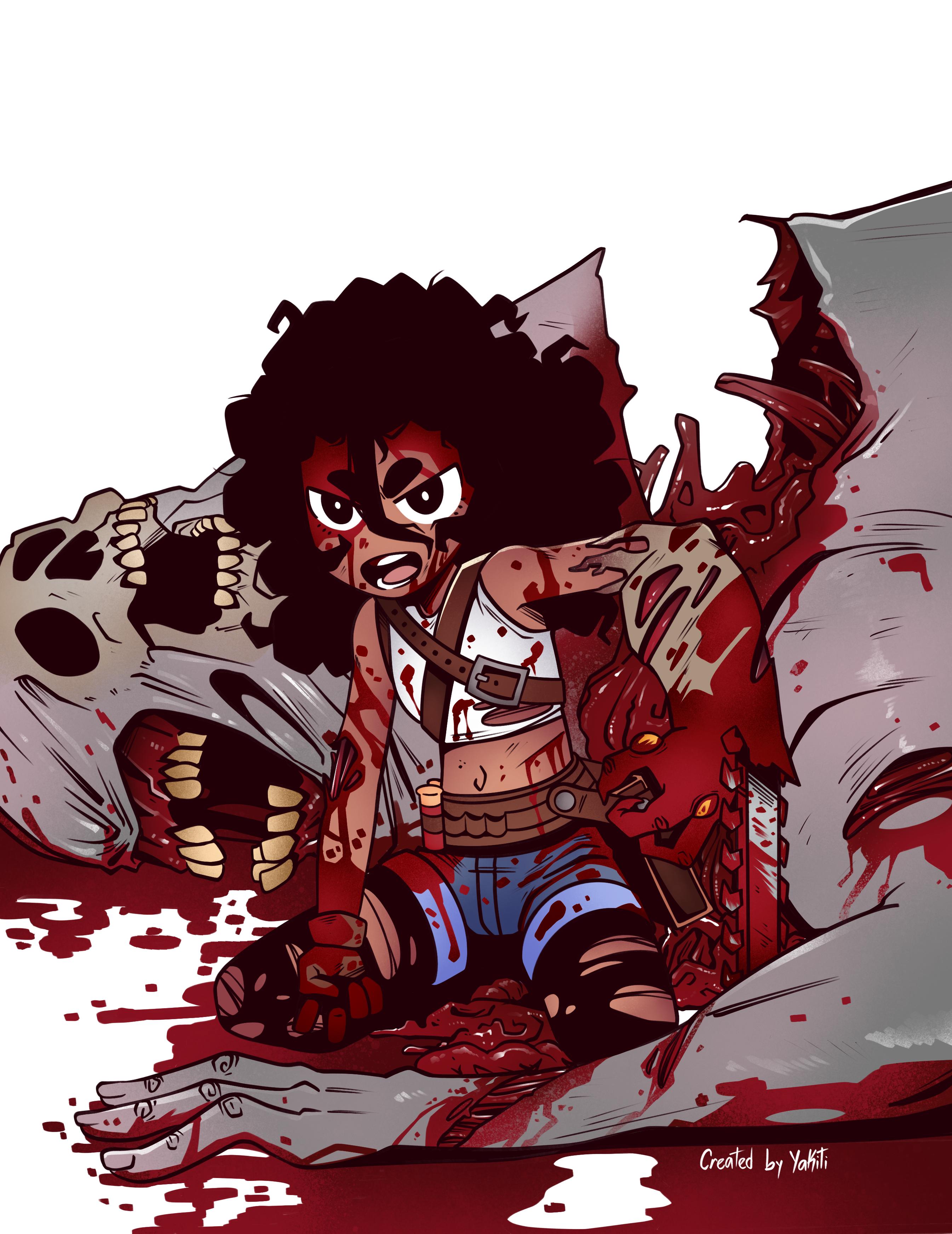 Kian (Character Comic Project)