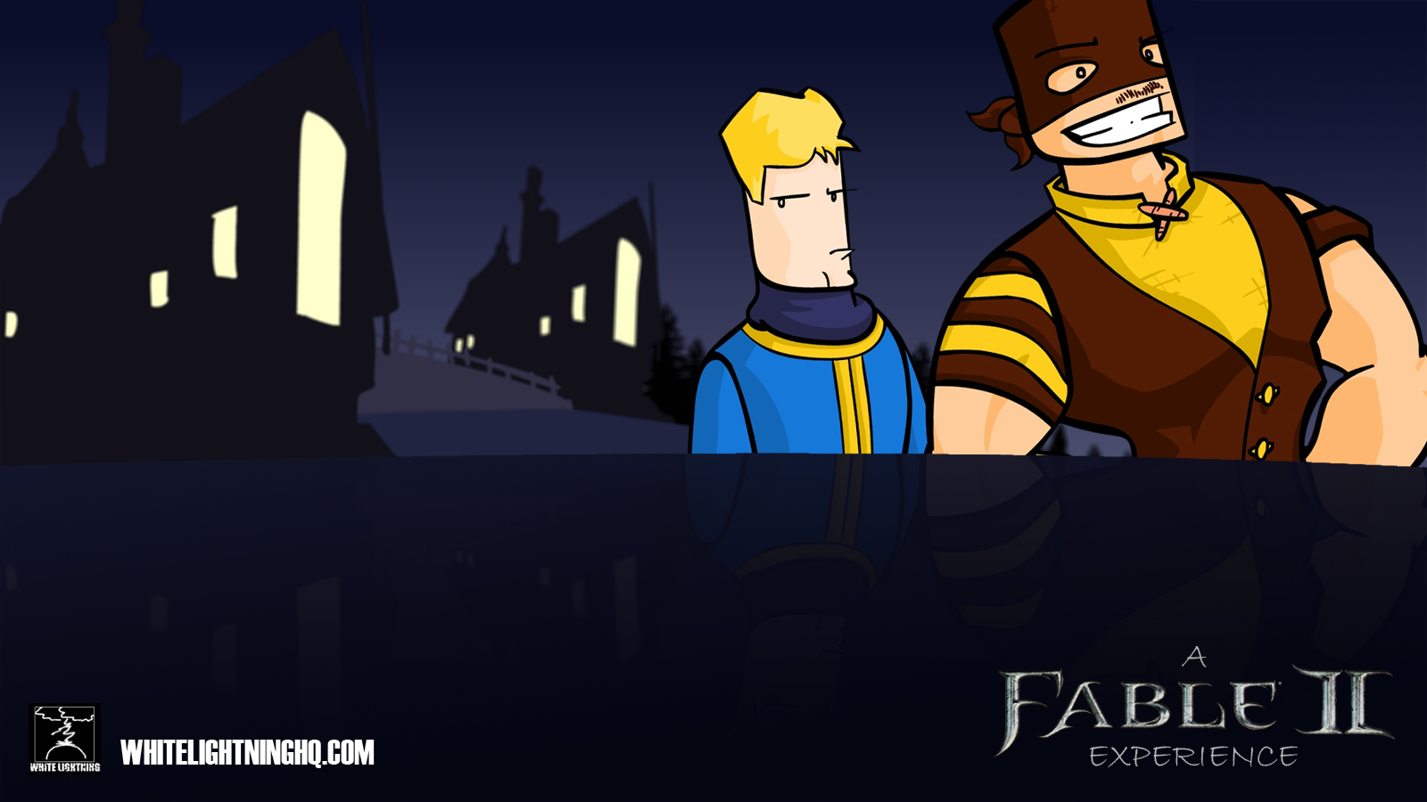 Fable II Xbox Dashboard BG by WhiteLightning on Newgrounds