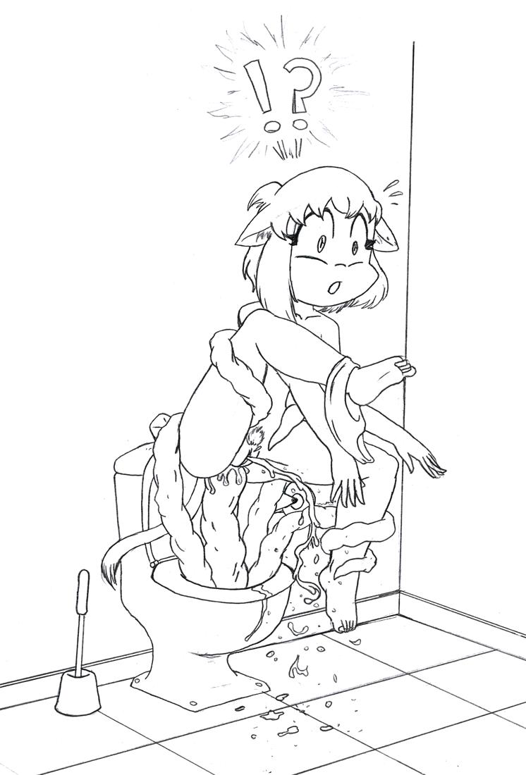 Toilet Tentacles