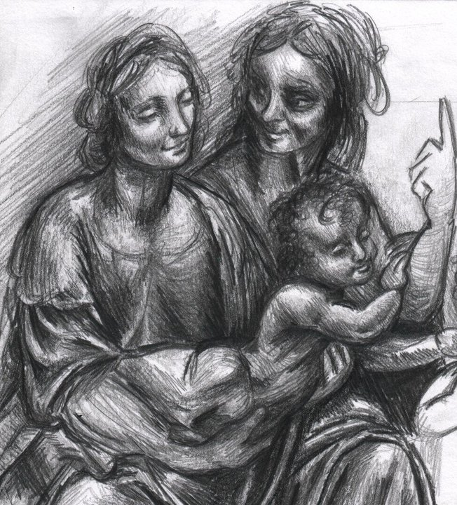 The Virgin, Child & Saint Anne