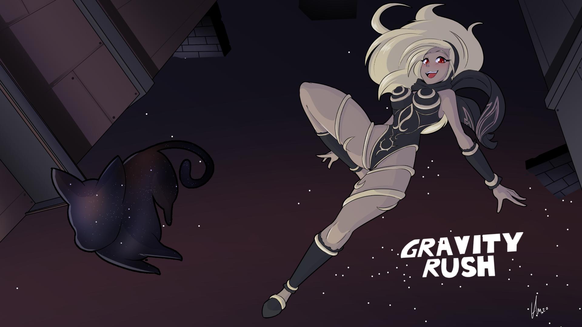 Gravity Rush Wallpaper