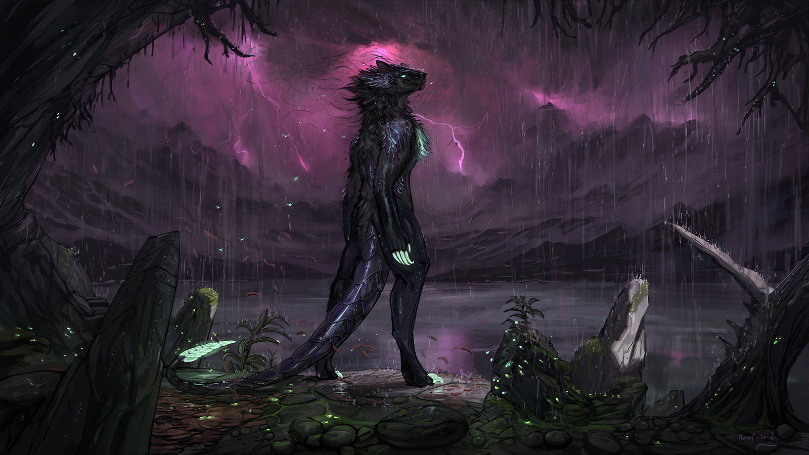 Inside the eye of the storm [commission]