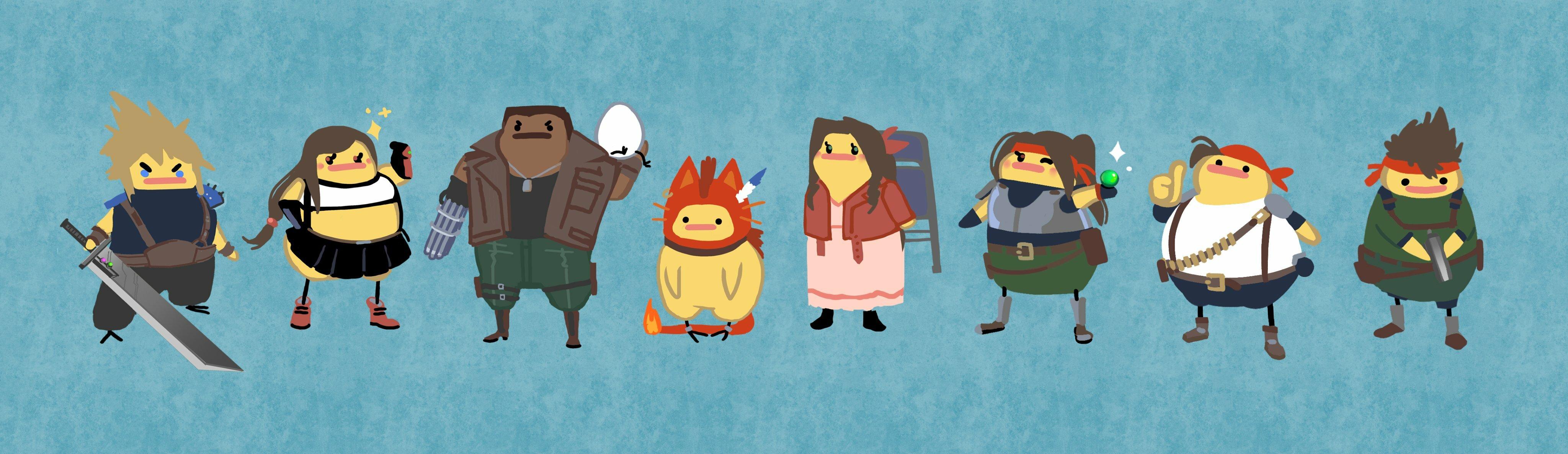 Final Fantasy Remake: Birdblob Edition