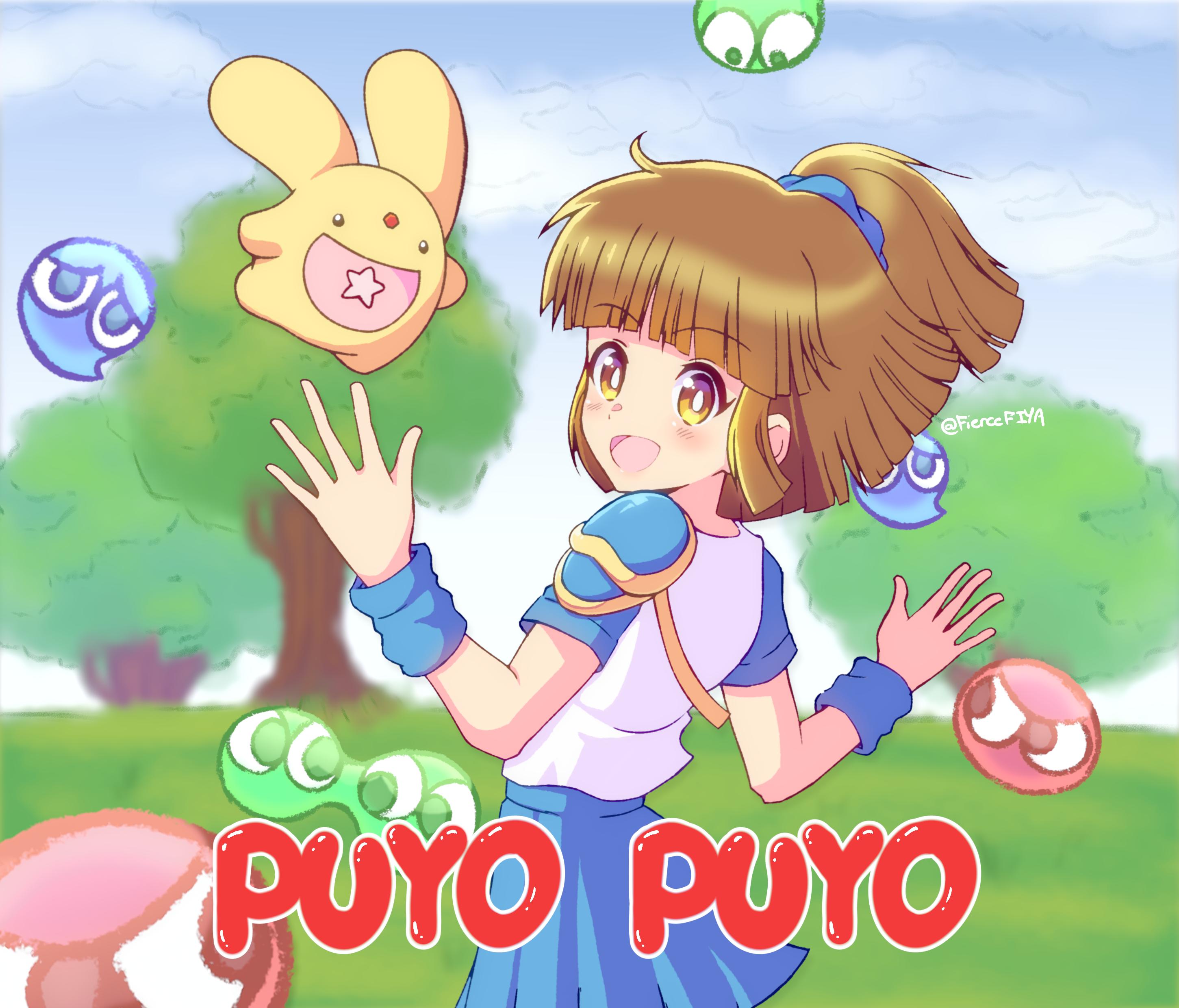 Puyo Puyo PC-98 Redraw