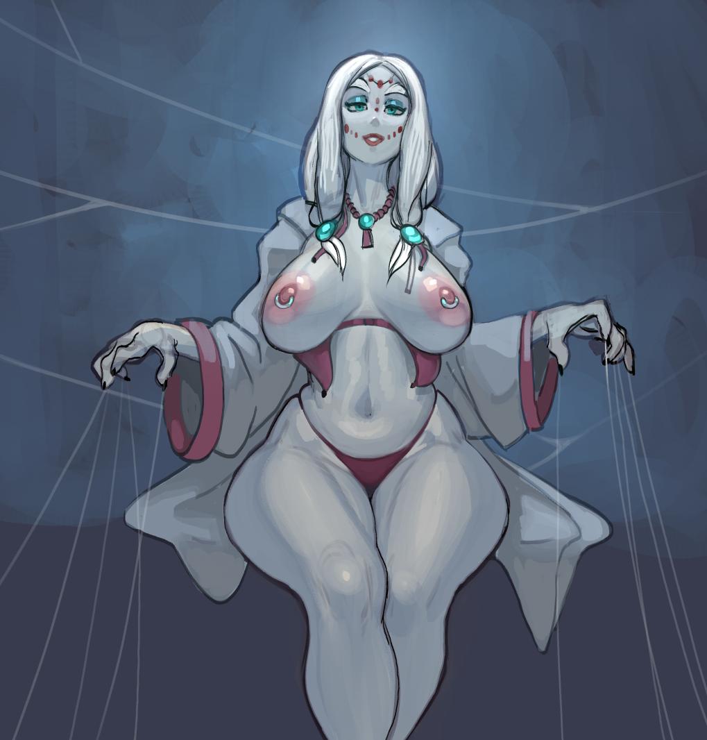 Mother Spider Demon Milf !