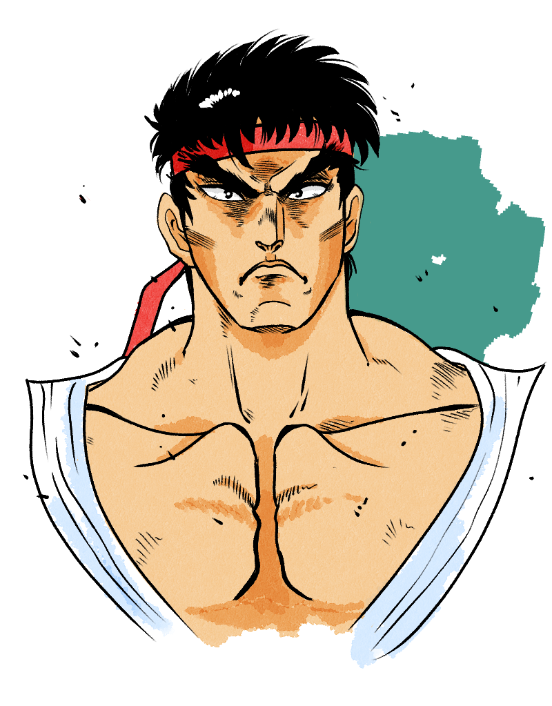 Ryu Street Fighter By Slimslime On Newgrounds