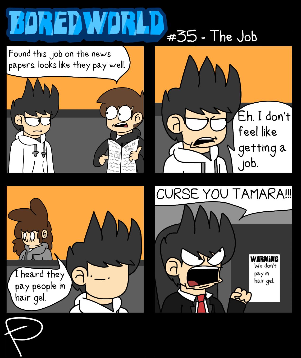 Boredworld - The Job