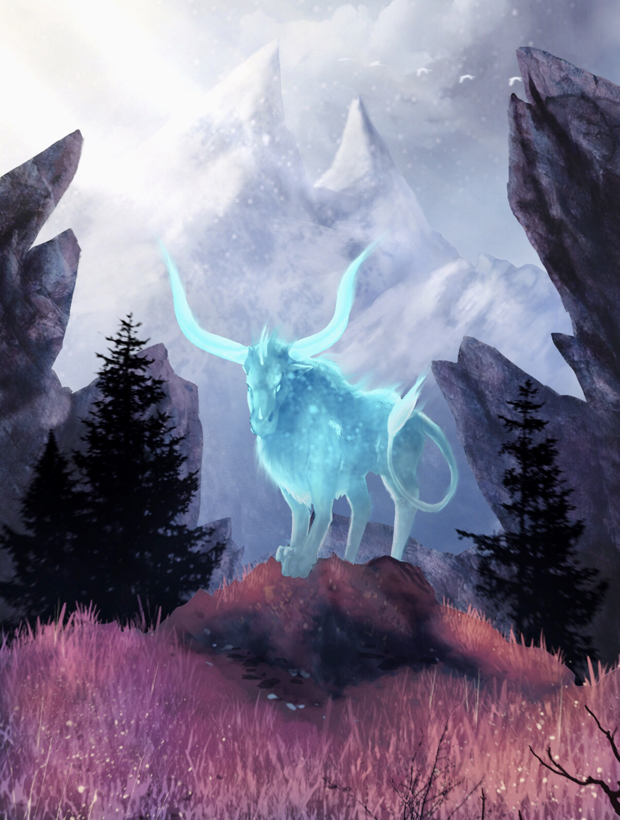 The Guardian of the Moutains