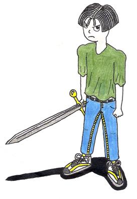 Dude with Sword