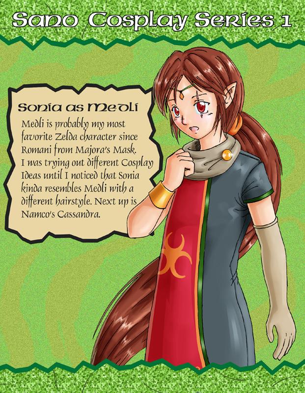 Sonia as Medli