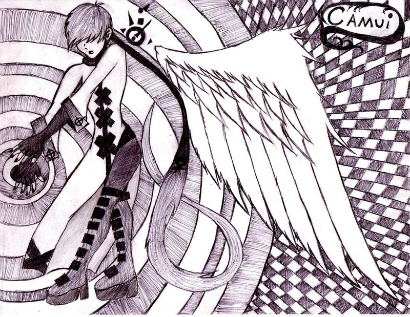 Another angel sketch