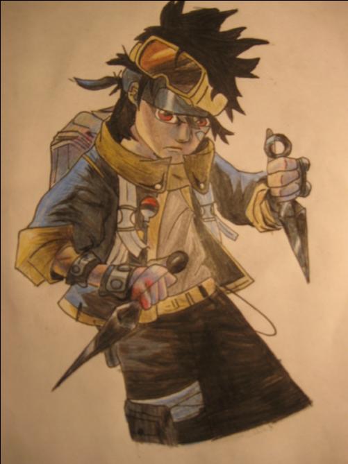 Uchiha Obito Painting