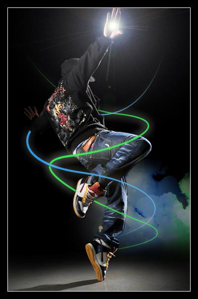 Hip Hop Dancer (me)