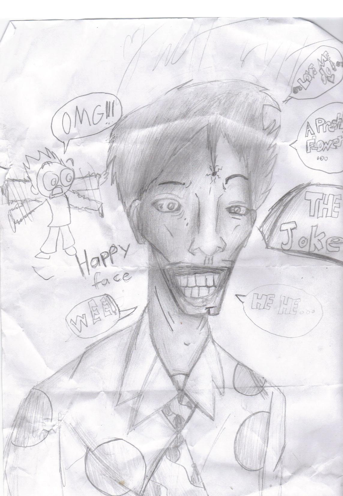 joker made in art class